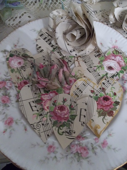 (The Music We Love) DIY Sheet Music Scrap For Your Craft Projects