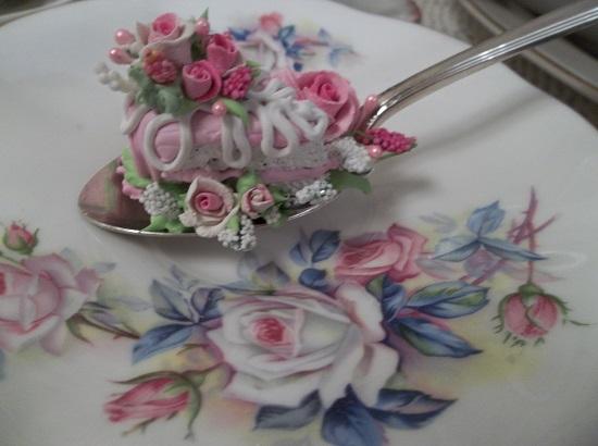 (Aleena) Vintage Teaspoon Decoration