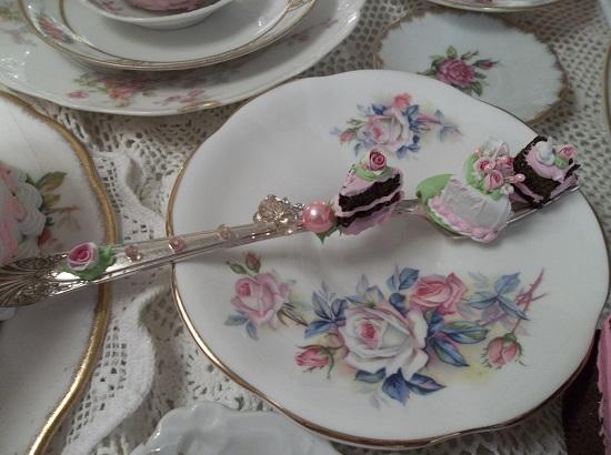 (Triple Treated) Decorated Vintage Fork