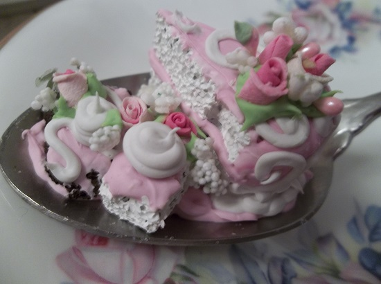 (Triple Tinies) Vintage Teaspoon Decoration