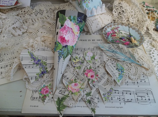 (Spring Mix) DIY Sheet Music Scrap For Your Craft Projects