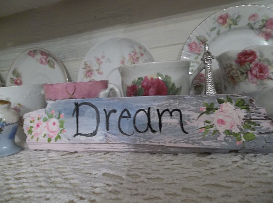 (Dream Small) Handpainted Sign