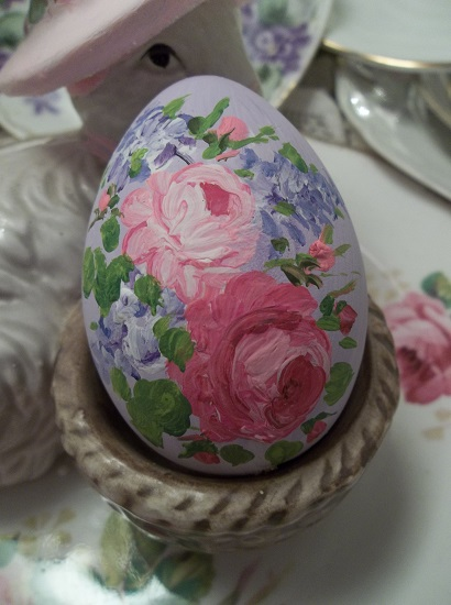 (Francina) Handpainted Fake Egg