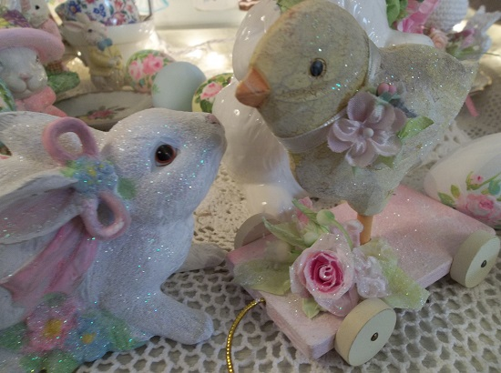 (Shabby Chic Chick) Easter Decoration