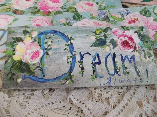 (Dream Always) Handpainted Sign