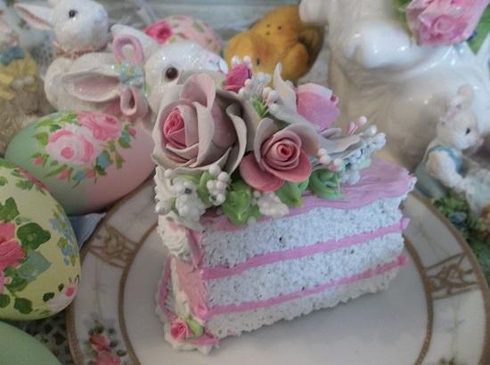 (Nancy) Fake Cake Slice