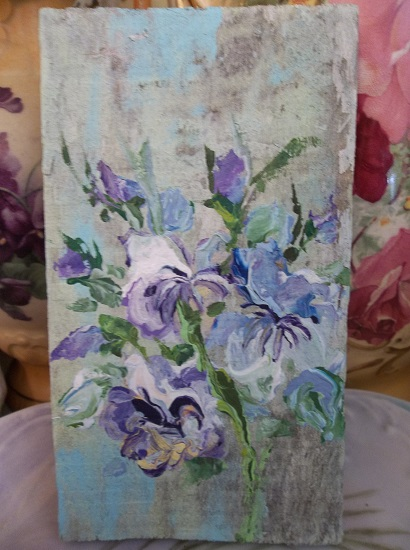 (Beautiful Bouquet) Handpainted Sign