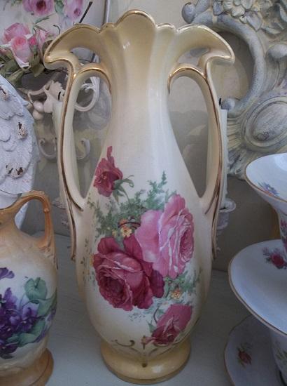 (Tall Deco Rosa Vase) Vase
