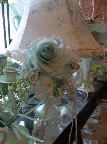 (Unending Grace) Handmade Assemblage Art Paper Rose Clip