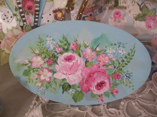 (Princess Charming) Handpainted Plaque