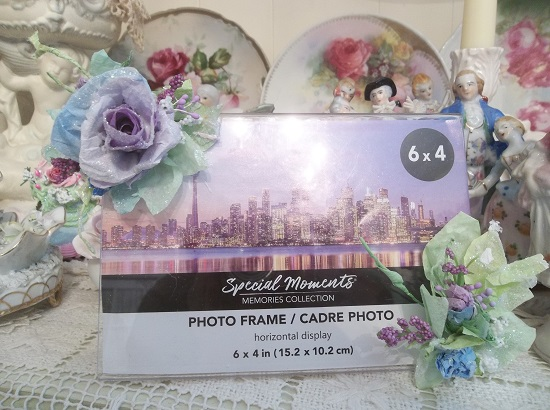 (Violet Winters) Decorated Acrylic Photo Frame