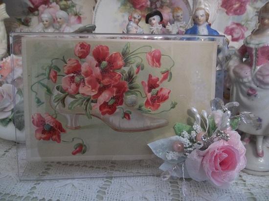 (Razzel Dazzel Rose) Decorated Acrylic Photo Frame