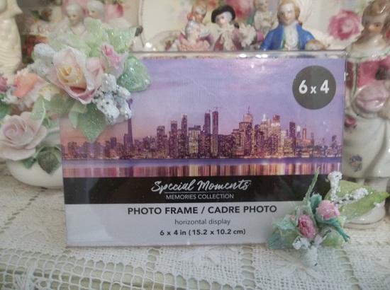 (Frosty Pink Lemonade) Decorated Acrylic Photo Frame