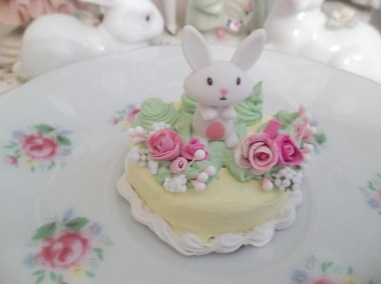 (Rose Forest Bunny Cake) Mini Marvel