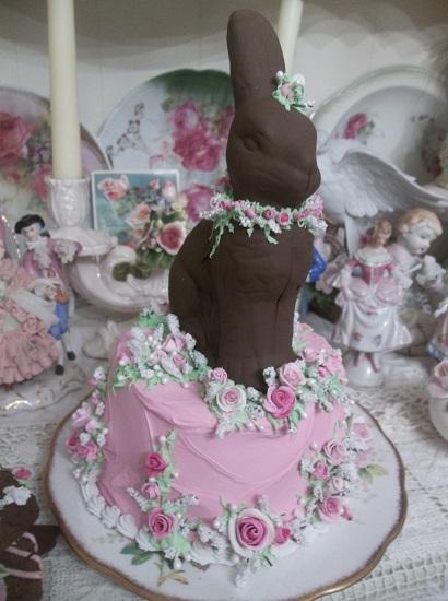 (Easter Morning Cake) Funky Junk Fake Cake