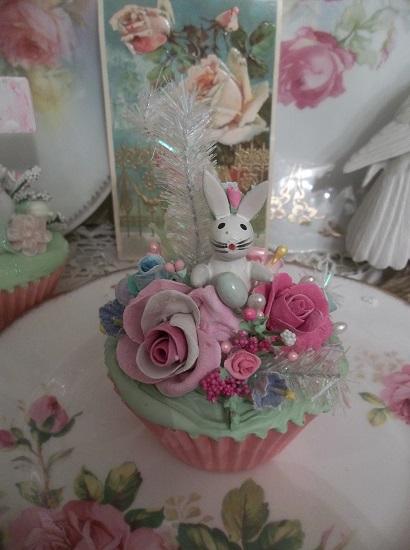 (Sparkles The Bunny) Fake Cupcake