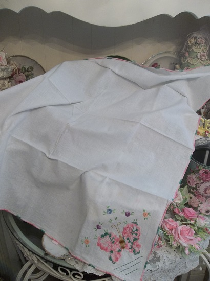 (First Butterfly Of Spring) Tablecloth