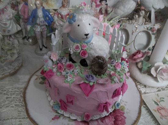 (Lambie Pie In The Garden) Fake Cake