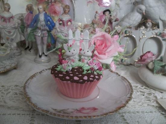 (Chocolate Crochet) Fake Cupcake