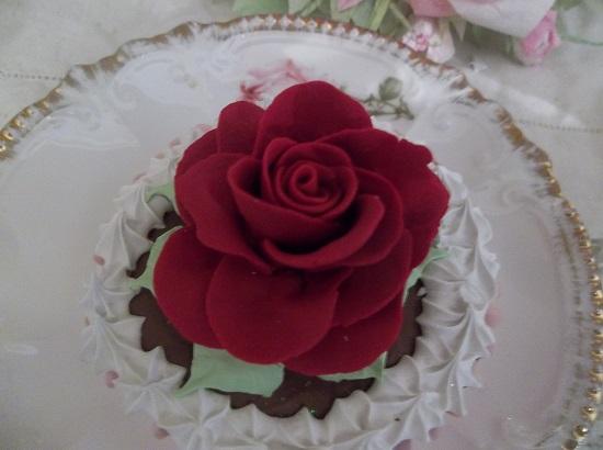 (Scarlet Rose) Fake Cupcake