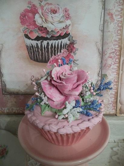 (Ishtar's Garden) Fake Cupcake