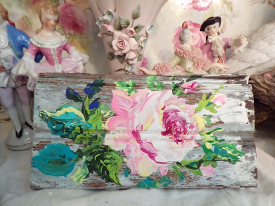 (Dreaming Shabby Style) Handpainted Sign