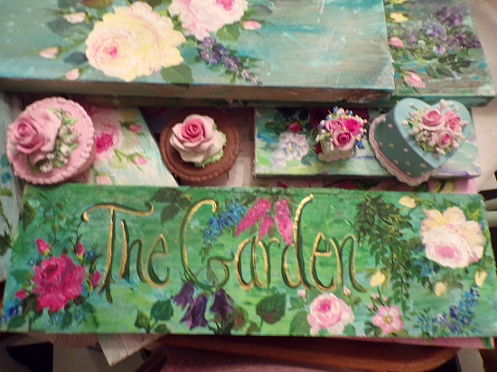 (The Garden I Have) Handpainted Sign