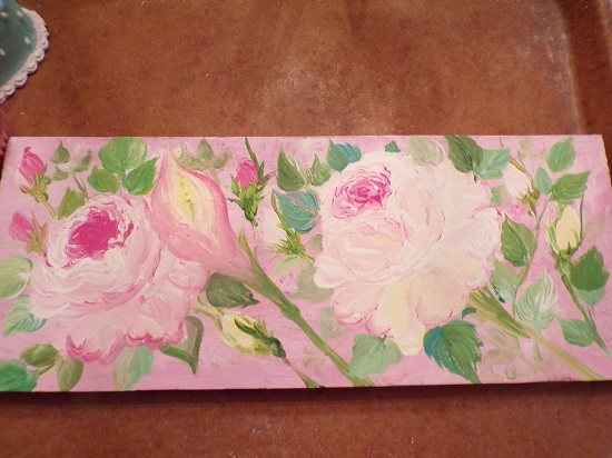 (Lilly Rosa) Handpainted Sign