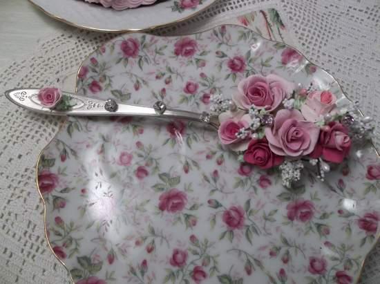 (Diamond) Vintage Serving Spoon Decoration