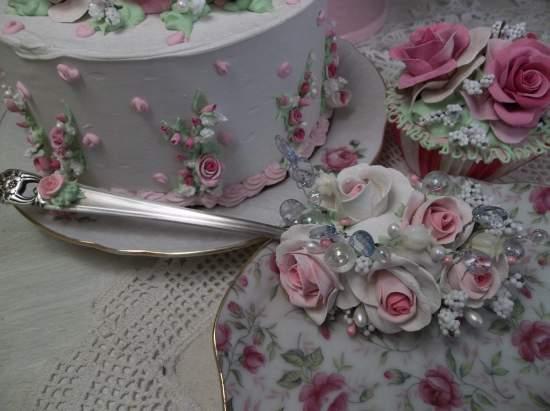 (Jewel) Vintage Serving Spoon Decoration