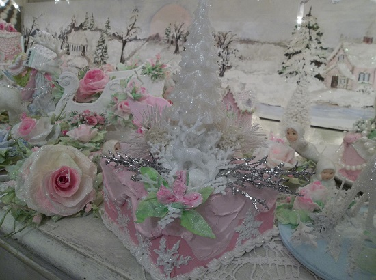 (Enchanted Forest) Fake Cake