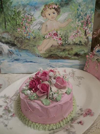 (Tabatha Anne) Funky Junk Fake Cake