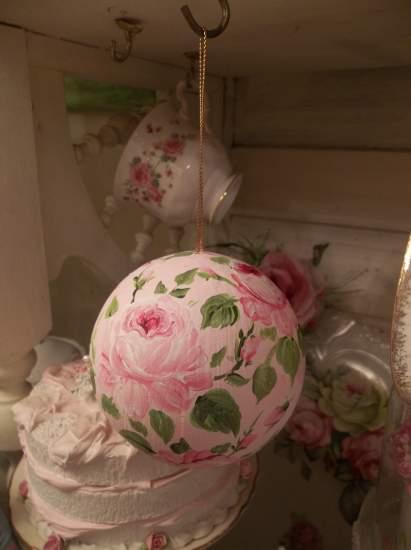(The Christmas Ball) Paper Mache Christmas Ornament
