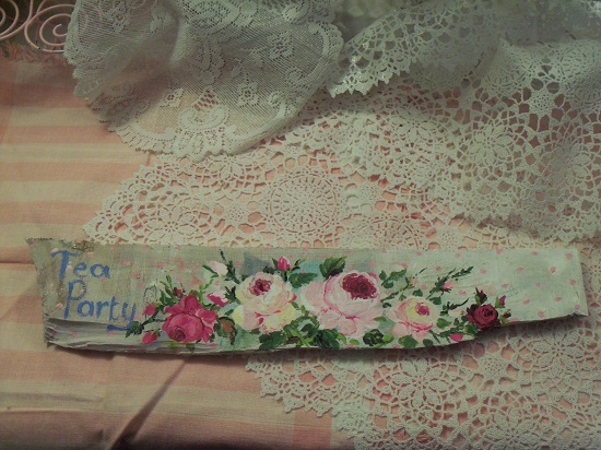 (*Tea Party*) Handpainted Sign