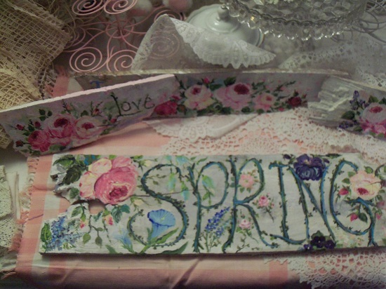 (*SPRING*) Handpainted Sign