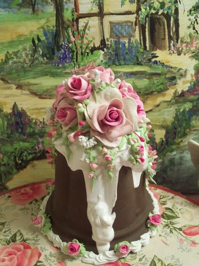 (Sundae Queen) Funky Junk Fake Cake