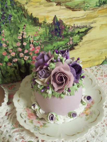 (Orchid Annie) Funky Junk Fake Cake