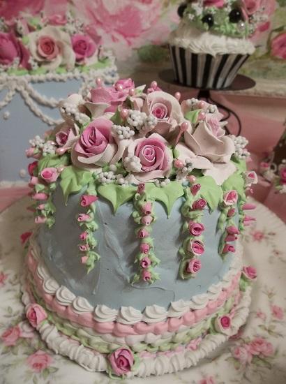 (Betsy Lou) Funky Junk Fake Cake
