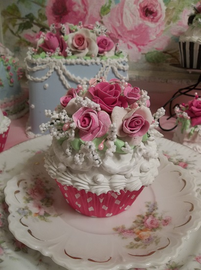 (Sweet Grace) Fake Cupcake
