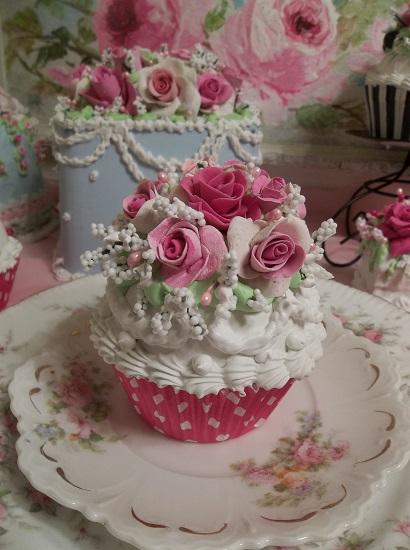 (Sweet Grace) Fake Cupcake