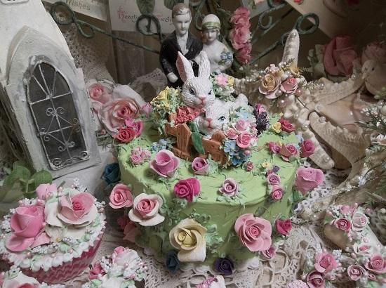 (Garden Bunnies) Fake Cake