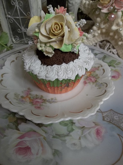 (Orange Lemonade) Fake Cupcake