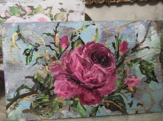 (Frugal Rose) Handpainted Sign
