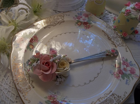 (Color Me Vintage) Vintage Teaspoon Decoration