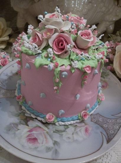 (Cotton Candy) Fake Cake