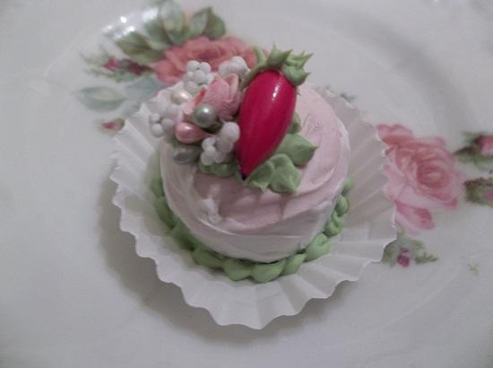 (Strawberry Dream Cake) Funky Junk Mini Marvel