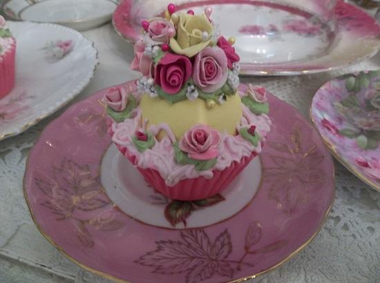 (Daisy) Fake Cupcake