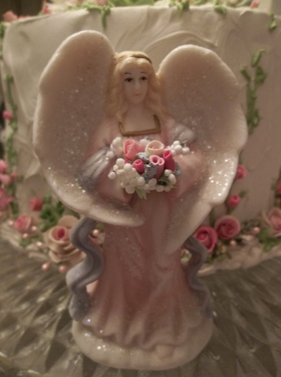 (Angella) Decorated Resin Angel