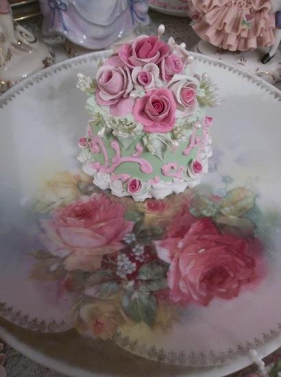 (Emily) Funky Junk Fake Cake