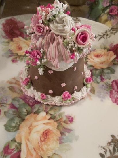 (Chocolate Charley) Funky Junk Fake Cake